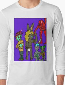 SHADOW TOONS Long Sleeve T-Shirt