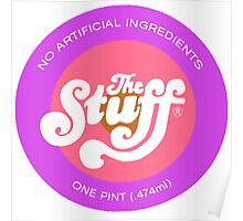 "The Stuff - logo from ""The Stuff"" Poster"