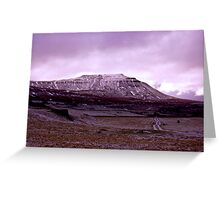 Ingleborough Fell Greeting Card