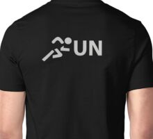Run (Typography Syntax) Unisex T-Shirt