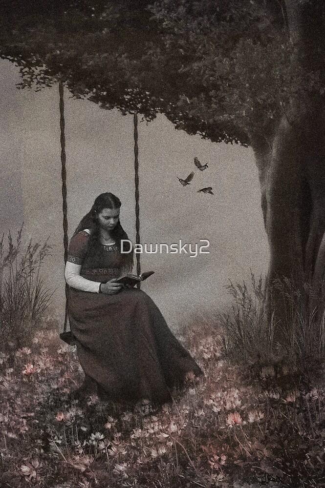 Under the Old Oak by Dawnsky2
