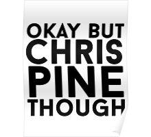 Chris Pine Poster
