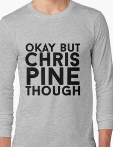 Chris Pine Long Sleeve T-Shirt
