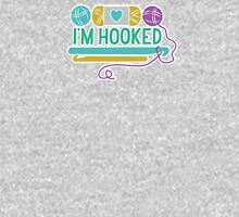 I'm Hooked (Crochet) Womens Fitted T-Shirt