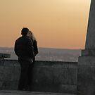 Sunset kiss by aleksandra15