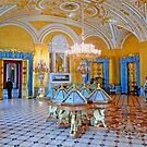 The Gold and Blue Room by Braedene