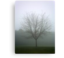 Ghosted Tree Canvas Print