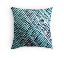 Lines in a Radiator Throw Pillow