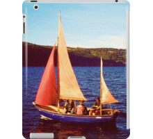 Red Sails In Broad Daylight ~ Loch Ness iPad Case/Skin