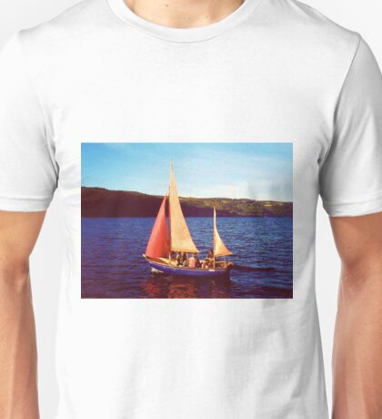 Red Sails In Broad Daylight ~ Loch Ness Unisex T-Shirt