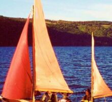 Red Sails In Broad Daylight ~ Loch Ness Sticker