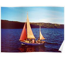 Red Sails In Broad Daylight ~ Loch Ness Poster