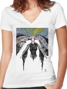 Free to be 1 Women's Fitted V-Neck T-Shirt
