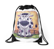 Animal Parade Cow Drawstring Bag