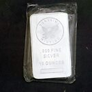10 Troy ounce silver ingot by Braydon