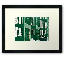On the sunny side of the street  Framed Print
