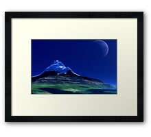 Cal'Dargon - Before the Age of Man series. Framed Print