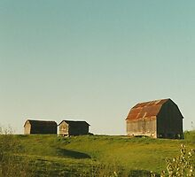 Farm, Northern Ontario by Christopher Clark