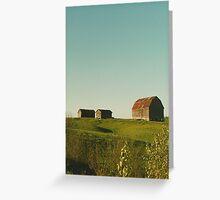 Farm, Northern Ontario Greeting Card