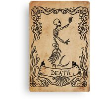 Mermaid Tarot: Death Canvas Print