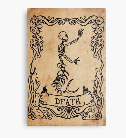 Mermaid Tarot: Death Metal Print
