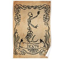 Mermaid Tarot: Death Poster