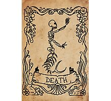 Mermaid Tarot: Death Photographic Print
