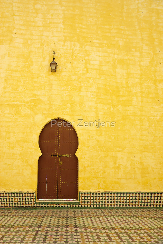 The Mausoleum of Moulay Ismail by Peter Zentjens