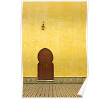 The Mausoleum of Moulay Ismail Poster