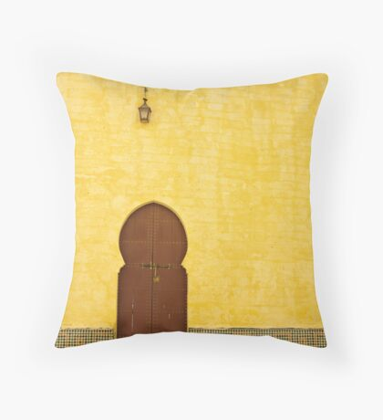 The Mausoleum of Moulay Ismail Throw Pillow