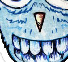 WOOT blue owl Sticker