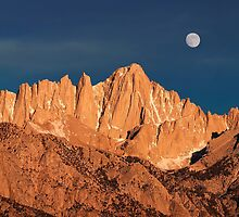 Mount Whitney At Sunrise. by Alex Preiss