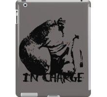 IN CHARGE iPad Case/Skin