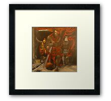 Odysseus at Hades  Framed Print