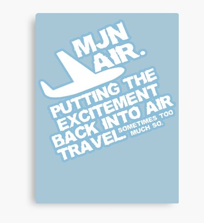 Putting the excitement back into air travel Canvas Print