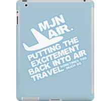 Putting the excitement back into air travel iPad Case/Skin