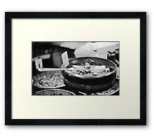 Olive & Let Live Framed Print