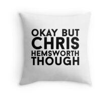 Chris Hemsworth Throw Pillow