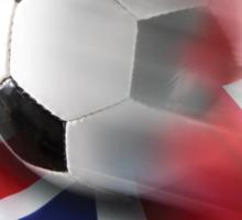 English Soccer Sticker