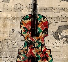 Violin by WillowCastiel