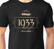 Since 1933 (Cream&Choco) Unisex T-Shirt