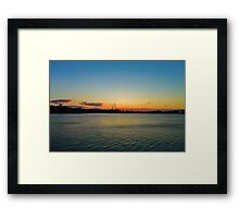 One Bright Morning! Framed Print