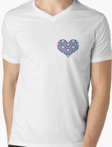 R6 Mens V-Neck T-Shirt