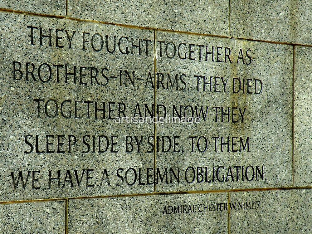 Memorial Details : A Solemn Obligation by artisandelimage