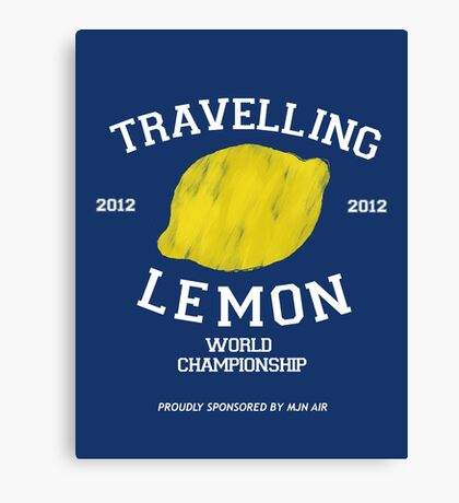 Travelling Lemon World Championship 2012 Canvas Print