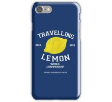 Travelling Lemon World Championship 2012 iPhone Case/Skin