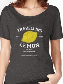Travelling Lemon World Championship 2012 Women's Relaxed Fit T-Shirt