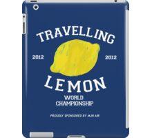 Travelling Lemon World Championship 2012 iPad Case/Skin