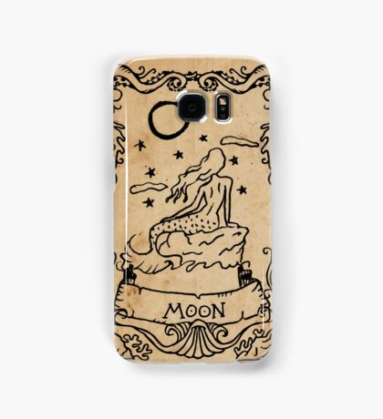 Mermaid Tarot: The Moon Samsung Galaxy Case/Skin