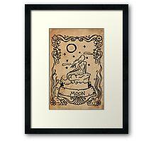 Mermaid Tarot: The Moon Framed Print
